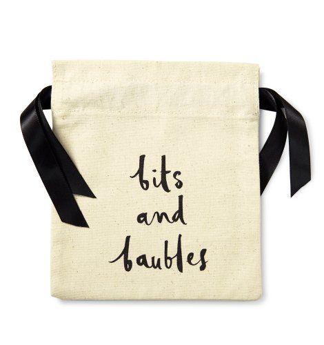 Kate Spade Bits and Baubles #Travel #Bag  Price : $15.00 http://www.whimsicalumbrella.com/Kate-Spade-Bits-Baubles-Travel/dp/B00KMANPDM