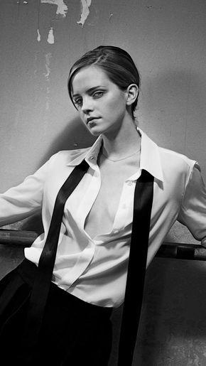 Emma Watson, monochrome, 2018, 720x1280 wallpaper
