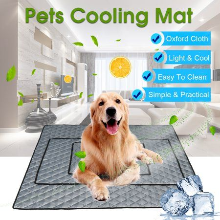 Pet Cooling Mat Non Toxic Cool Pad Cooling Pet Bed For Summer Dog