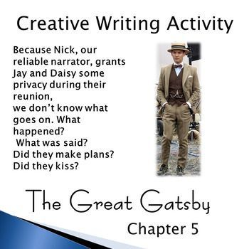 The great gatsby creative writing prompts nothing is impossible essay topic