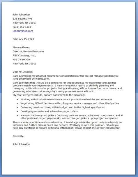 Manager Cover Letter New Cover Letters  Google Search  Cover Letters  Pinterest 2018