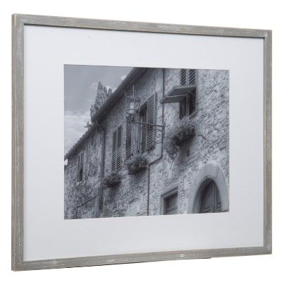 Gallery Perfect 8 X 10 5 X 7 4 X 6 7pc Photo Wall Gallery Kit With Decorative Frame Set Gray Photo Wall Gallery Wall Gallery Frame Decor