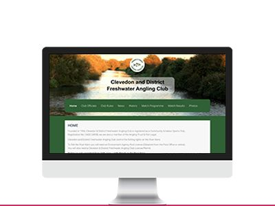 Clevedon Fishing Club Website Design By Technology Lab Development Software Development