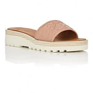 See by Chloé Quilted Leather Sandals outlet amazing price top quality online cheap sale cost qekujyb