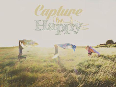 Capture the Happy - PicTapGo app