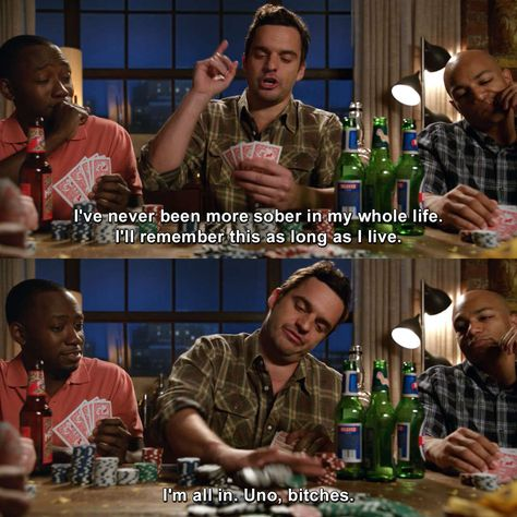 New Girl - Control New Girl Memes, New Girl Funny, New Girl Quotes, Funny New, New Girl Tv Show, Girls Show, Nick Miller Quotes, New Girl Nick And Jess, New Girl Schmidt