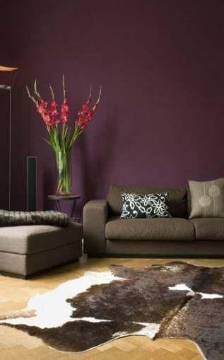 Bedroom Colour Schemes Men Accent Walls 59 Ideas Purple Living Room Living Room Paint Living Room Decor Purple