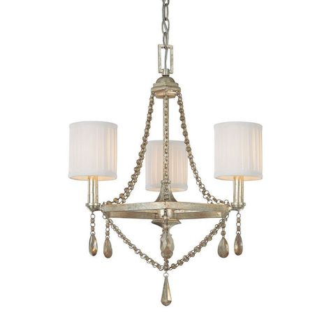 Capital Lighting 4007 500 Fifth Avenue 3 Light 1 Tier Mini