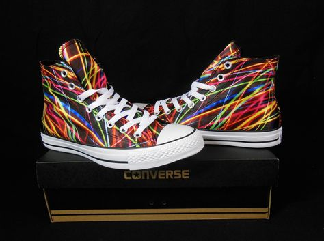 Converse Neon Lights All Star Chuck Taylor Kicks / Sneakers