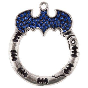 Batman Hinged Loop Beaded Jewelry