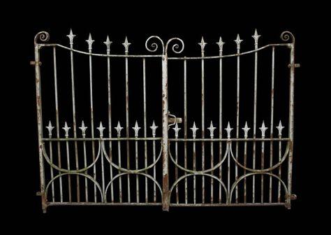 Pair Of Antique Wrought Iron Gates Uk Architectural Heritage
