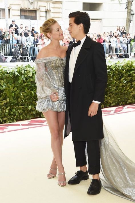 Lili Reinhart and Cole Sprouse Confirm Relationship on the 2018 Met Gala Red Carpet