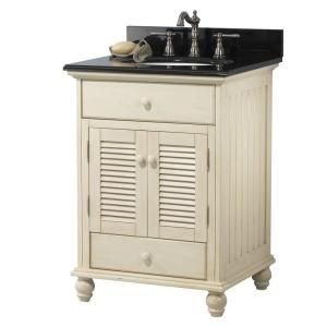Foremost Cottage 25 In W X 22 In H Vanity In Antique White With
