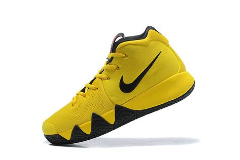 528816152ae Latest and Cheapest Nike Kyrie 4 Mamba Mentality 2018 Mens Basketball Shoes Tour  Yellow Black