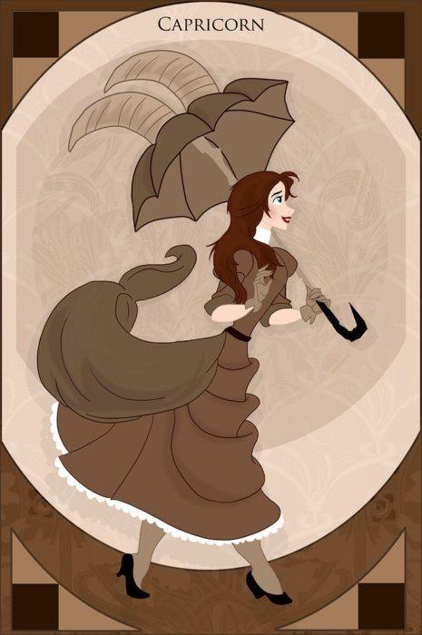 Disney Princess Zodiac - Jane, Capricorn