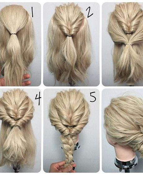 60 Easy Step By Step Hair Tutorials For Long Medium And Short Hair Hairstyle Fix Long Hair Styles Hair Styles Medium Hair Styles