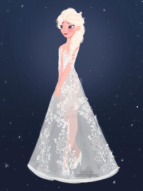 Elsa+in+Paolo+Sebastian+by+wolfskyla.deviantart.com+on+@DeviantArt