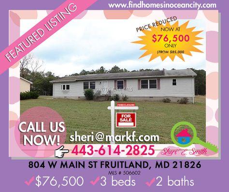 Featured Listing: 25505 Elzey Brown Loop Mardela Springs, MD   Price