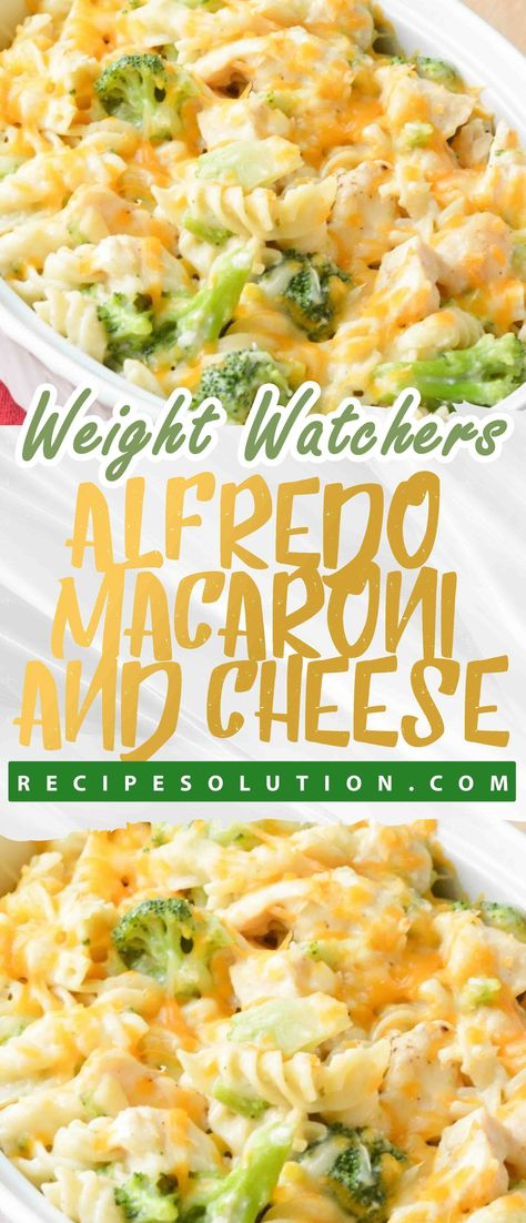 Skinny Alfredo Macaroni and Cheese - Recipe SOLUTION -8 SMARTPOINTS -   The road to healthy eating is easy with these Healthicious recipes, makes it easy and enjoyable to eat well and feel great than ever before to stay on track with your HEALTHY ( including breakfasts, lunches, dinners and snacks, nutrition advice you can trust, shopping tips) goals.  #skinny #alfredo #macaroni #and #cheese #RecipeSOLUTION #HealthyMeals #Recipes #mealplanning #US #Canada #UnitedStates #UK #Australia #marshalisl