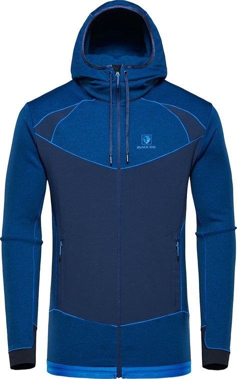 Montane Mens Power Up Pull On Navy Blue Sports Outdoors Half Zip Warm