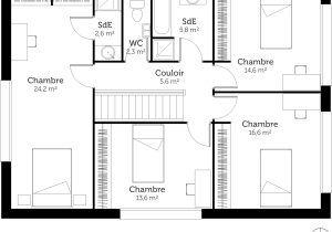 Plan Maison U 4 Chambres Avec 1 307191 1351 Et Plan Maison En U 26 2400x1983px Plan Maison En U Plan Maison En U Plan Maison Maisons En U