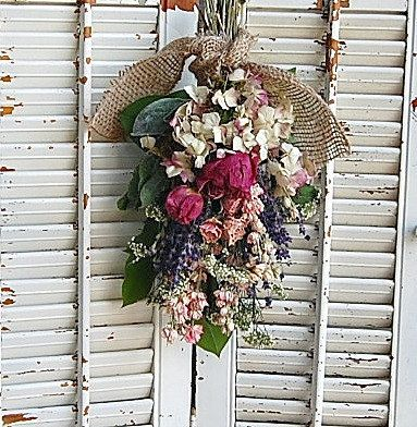 Dried French Lavender In Vintage French Book Cone Dried Etsy Dried Flower Bouquet Dried Flowers Dried Flower Arrangements