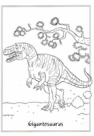 Kids N Fun Com 23 Coloring Pages Of Dinosaurs 2 Malvorlage