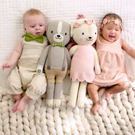 Ethically produced, hand-knit dolls that help feed children in need. Each doll is hand knit in Peru by talented artisans with premium cotton.