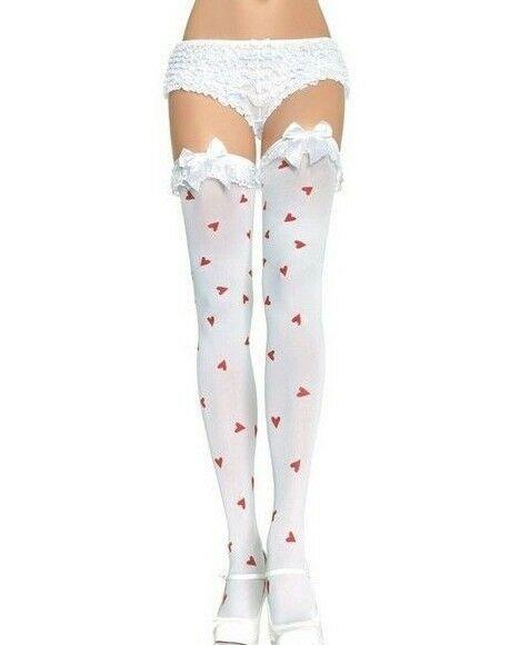 Leg Avenue Opaque Nylon Knee High Socks//Pop Socks One Size