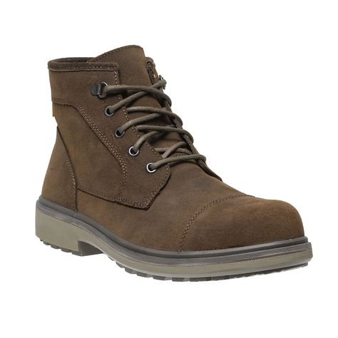 e960c044a439 Parade Oslo Lightweight Executive Mens Smart Brown Leather Safety Boots