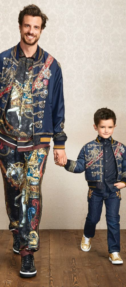 78f8d75e08 Dolce & Gabbana Kids Spring Summer 2019   Family Terno Outfit   Boys ...