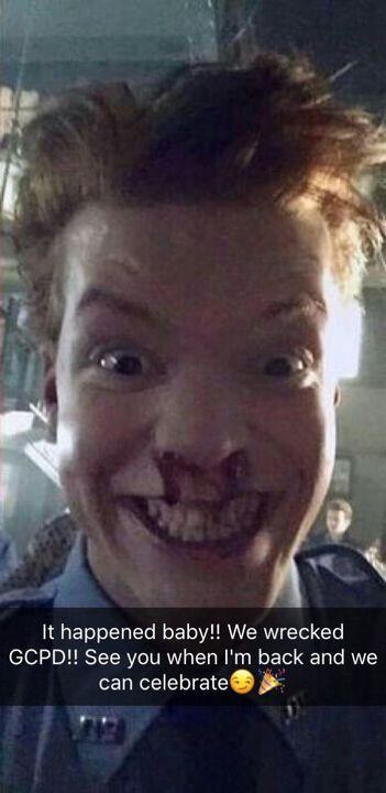 Cameron Monaghan Snapchat