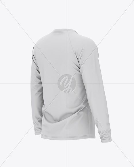 Download Download Mens Raglan Long Sleeve T Shirt Mockup Back Half Side View Psd Free M Downlo Shirt Mockup Men S Long Sleeve T Shirt Sports Fashion Men