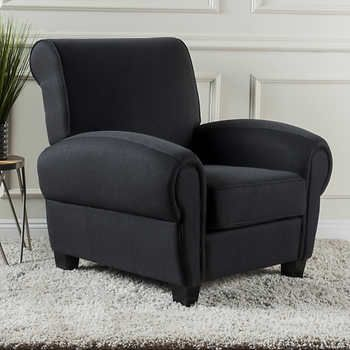 Pleasing Edmond Fabric Club Chair Charcoal For The Home Club Machost Co Dining Chair Design Ideas Machostcouk