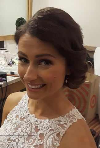 Jaqualine S Second Look On Her Wedding Day Wedding Hair And Makeup Wedding Hairstyles Formal Hairstyles