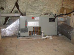 Attic Air Handler Insulation Air Handler House Restoration House