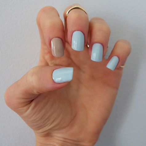 Simple & Subtle #nails #essie #opi