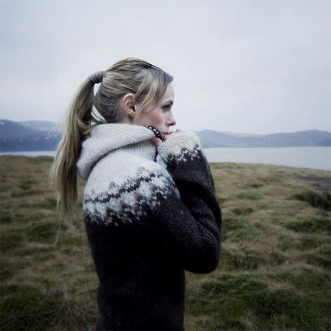 nordic sweater, yes.