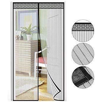Fliegengitter Tur Chenci Moskitonetz Fliegenvorhang 210 90 Cm Insektenschutz Verlangerte Magnet Verschlusse Fliegengitter Fur Turen Fliegengitter Fliegentur
