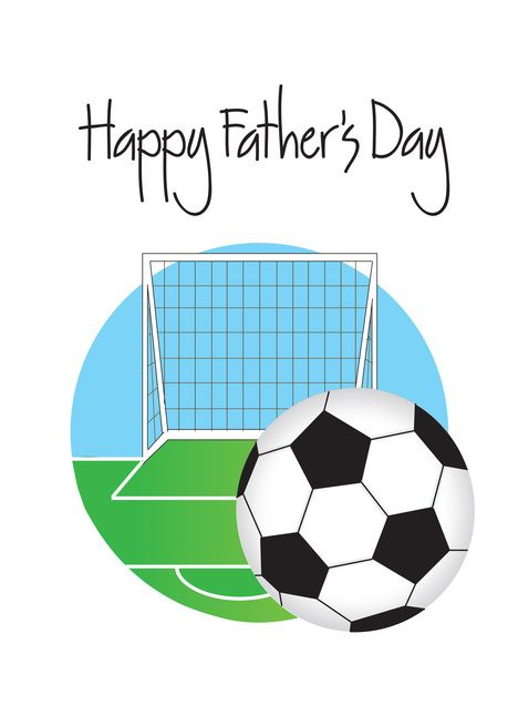Father Rsquo S Day For Soccer Player Or Fan Soccer Field And Goal Card Ad Sponsored Day Soccer Father Rsqu Soccer Happy Fathers Day Soccer Players