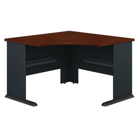 Corner Desk In Hansen Cherry Galaxy