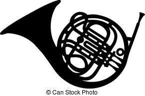 French Horn Clipart Vector And Illustration 576 French Horn Clip Art Vector Eps Images Available To Search From Thousands Of R Stock Art Clip Art French Horn