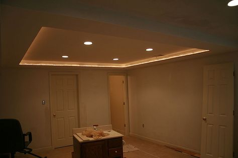 Rope Lighting In Tray Ceiling Tray Ceiling Lighting