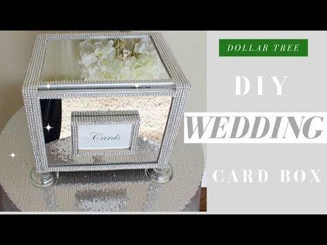 Diy Wedding Card Boxes You Can Make Yourself Diy Weddings Wedding Card Diy Homemade Wedding Cards Card Box Wedding Diy