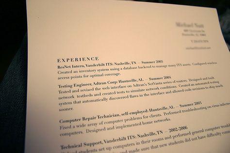 Currículo! Utilidades Pinterest - restaurant worker resume