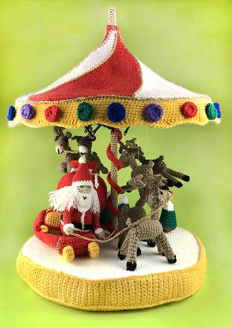 2020 Christmas Carousel Ornament Ravelry: Christmas Carousel pattern by The Home of Craft in 2020