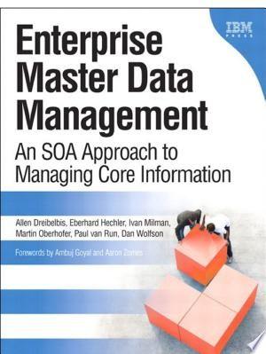 Enterprise Master Data Management Pdf Download Master Data Management Management Books Enterprise