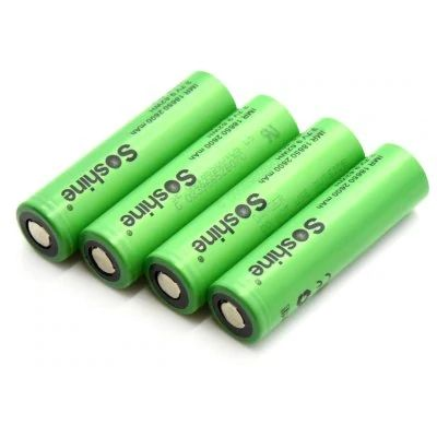Soshine 4pcs 20 30 Discount 28 Off Vtc5 18650 Powered Li Ion Rechargeable Battery 2600mah 35 Rechargeable Batteries Battery Off Grid Batteries