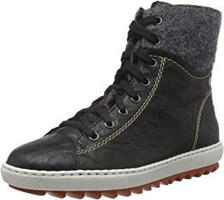 Rieker Damen L6540 High Top: : Schuhe & Handtaschen