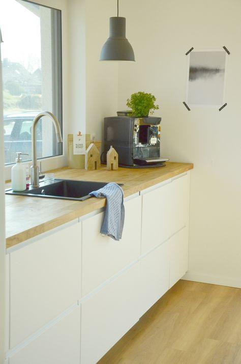Meine Küche von Ikea I Voxtorp I Personlig I Piepenkötters - küche weiß mit holz
